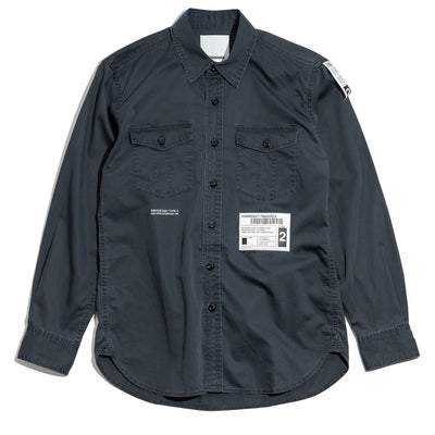 Safari  LS. C-Shirt | Black