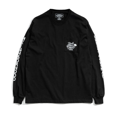 Neighborhood x Mister Cartoon Toons Mart LS. Tee | Black