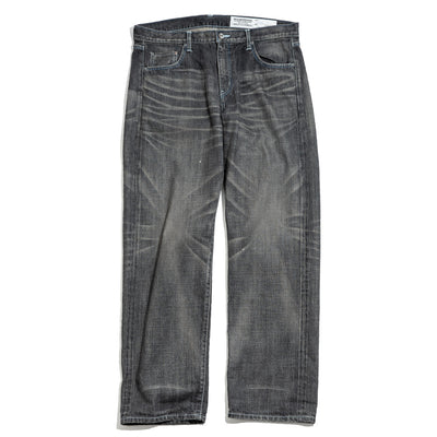 Washed Basic 14oz Pant | Black