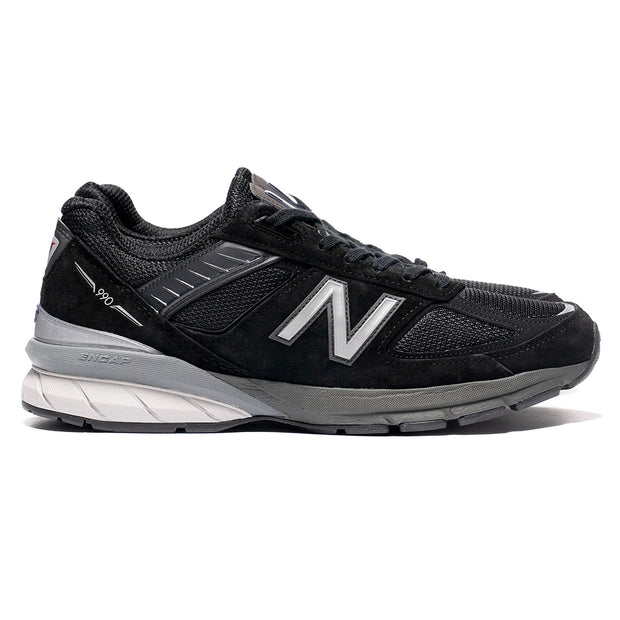New Balance M990BK5 Made in US | Black - CROSSOVER