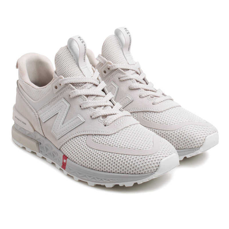 New Balance MS574UTS Sport | Silver - CROSSOVER