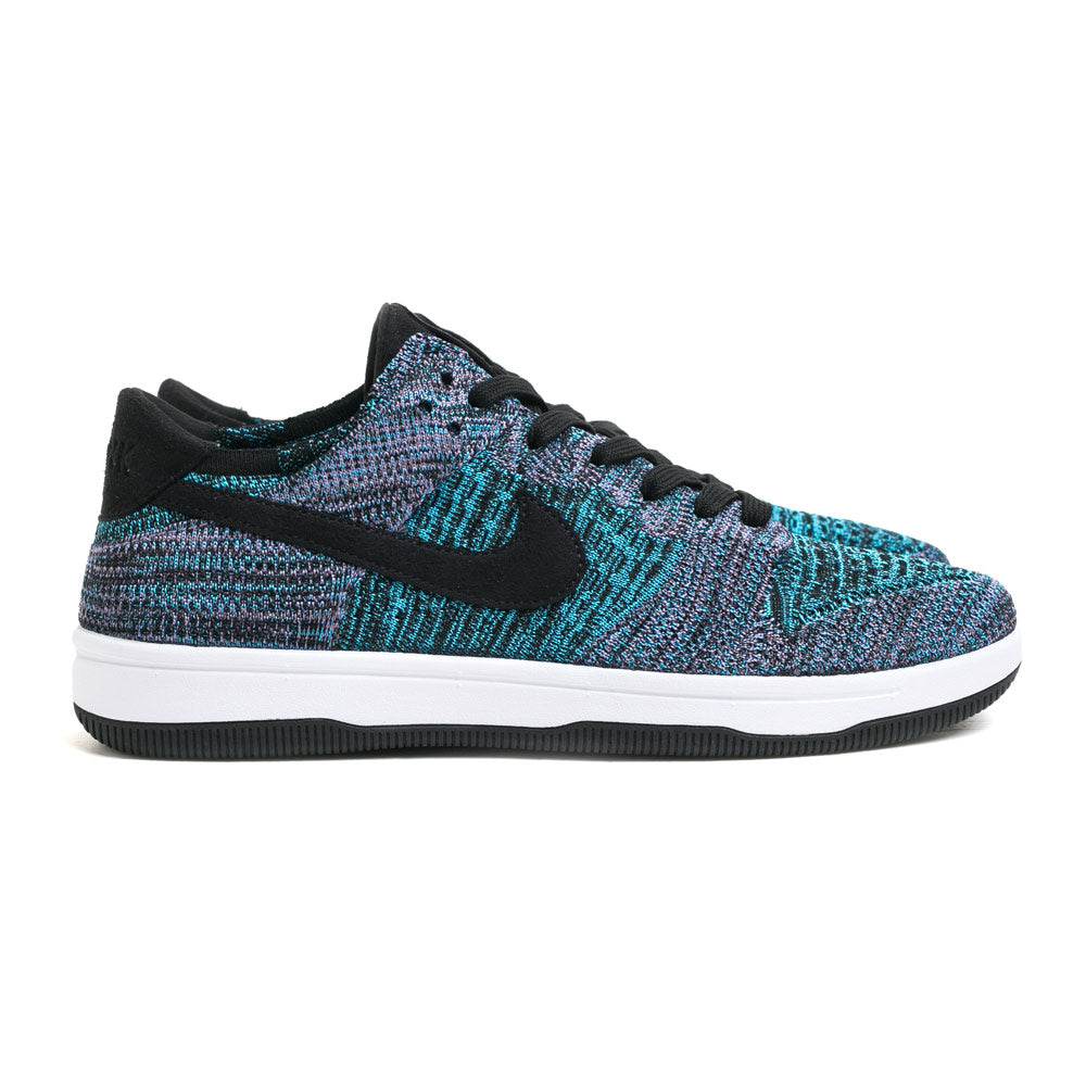 Nike Men's Dunk Low Flyknit | Bright Violet - CROSSOVER ONLINE