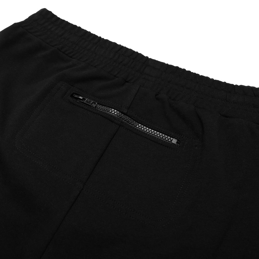 'Cryptic' Fleece Short | Black