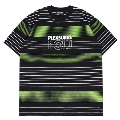 PleasuresFeed Back Tee | Black - CROSSOVER