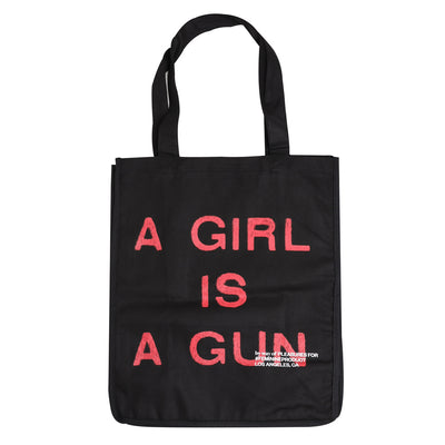 Pleasures A Girl Is A Gun Tote Bag - CROSSOVER
