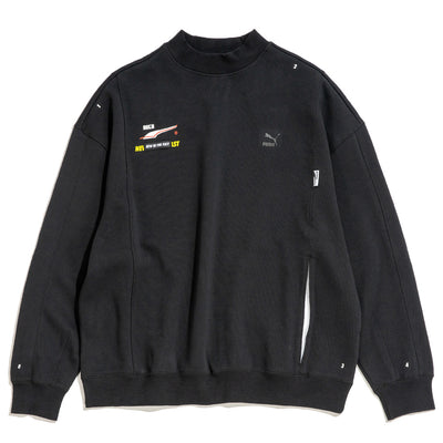 Puma x Ader Error Crew Sweater | Black
