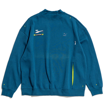 Puma x Ader Error Crew Sweater | Gibraltar Sea