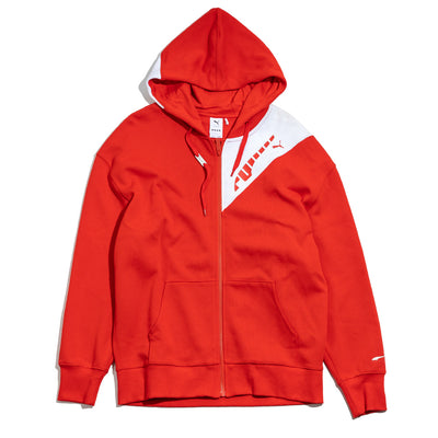 Puma x Ader Error Full Zip Hoodie | Red