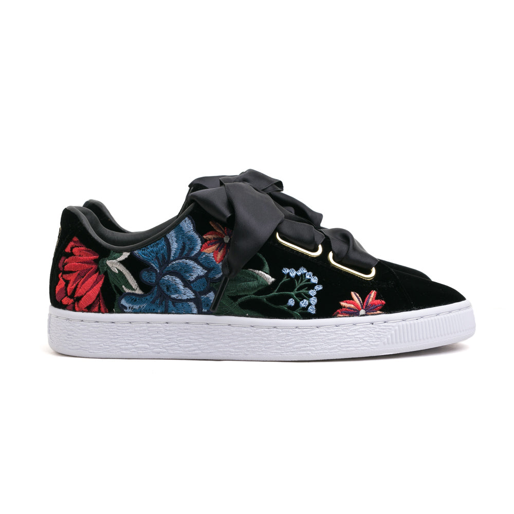 Puma Basket Heart Hyper Women's | Black - CROSSOVER ONLINE