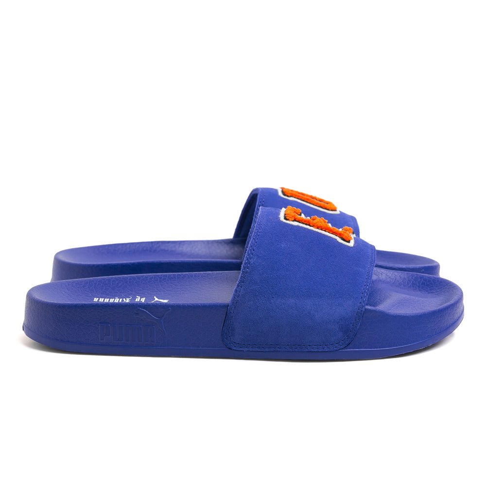 FENTY Suede Slide Sandals | Blue