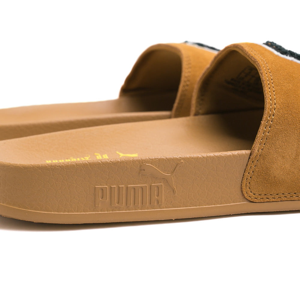 FENTY Suede Slide Sandals | Brown