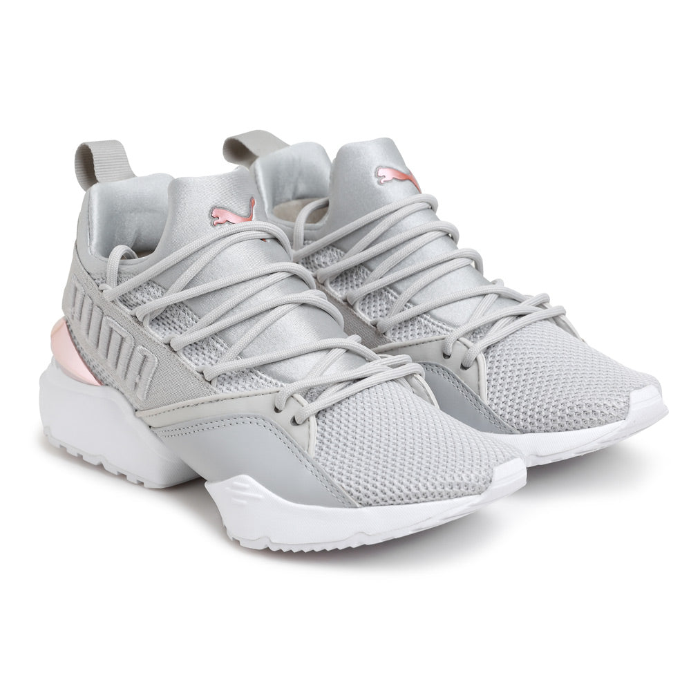 Puma Muse Maia Metallic Rose | Gray - CROSSOVER