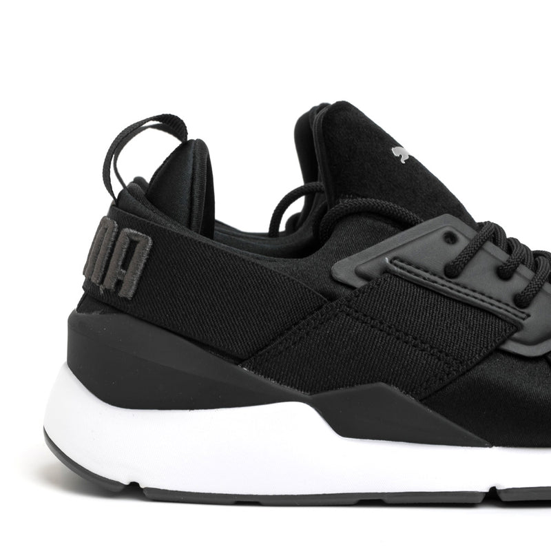 Puma Muse Satin II Wn's | Black - CROSSOVER ONLINE
