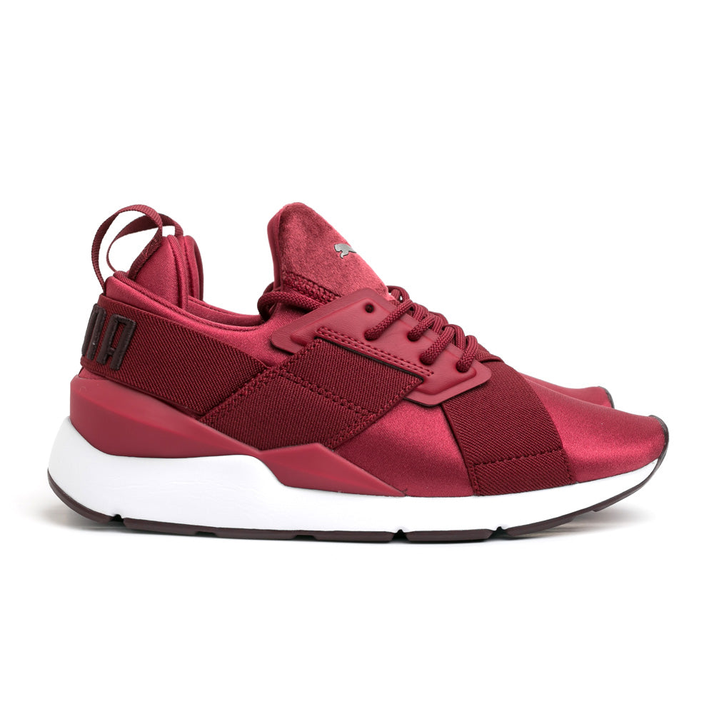 Puma Muse Satin II Wn's | Pomegranate - CROSSOVER ONLINE