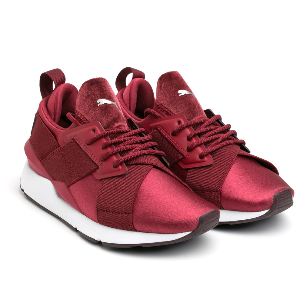 Puma Muse Satin II Wn's | Pomegranate - CROSSOVER