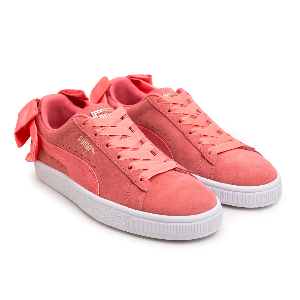 Puma Women's Suede Bow | Pink - CROSSOVER ONLINE