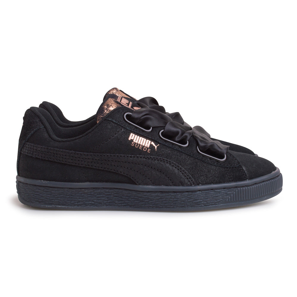 Puma Suede Heart Arctica Women | Black - CROSSOVER