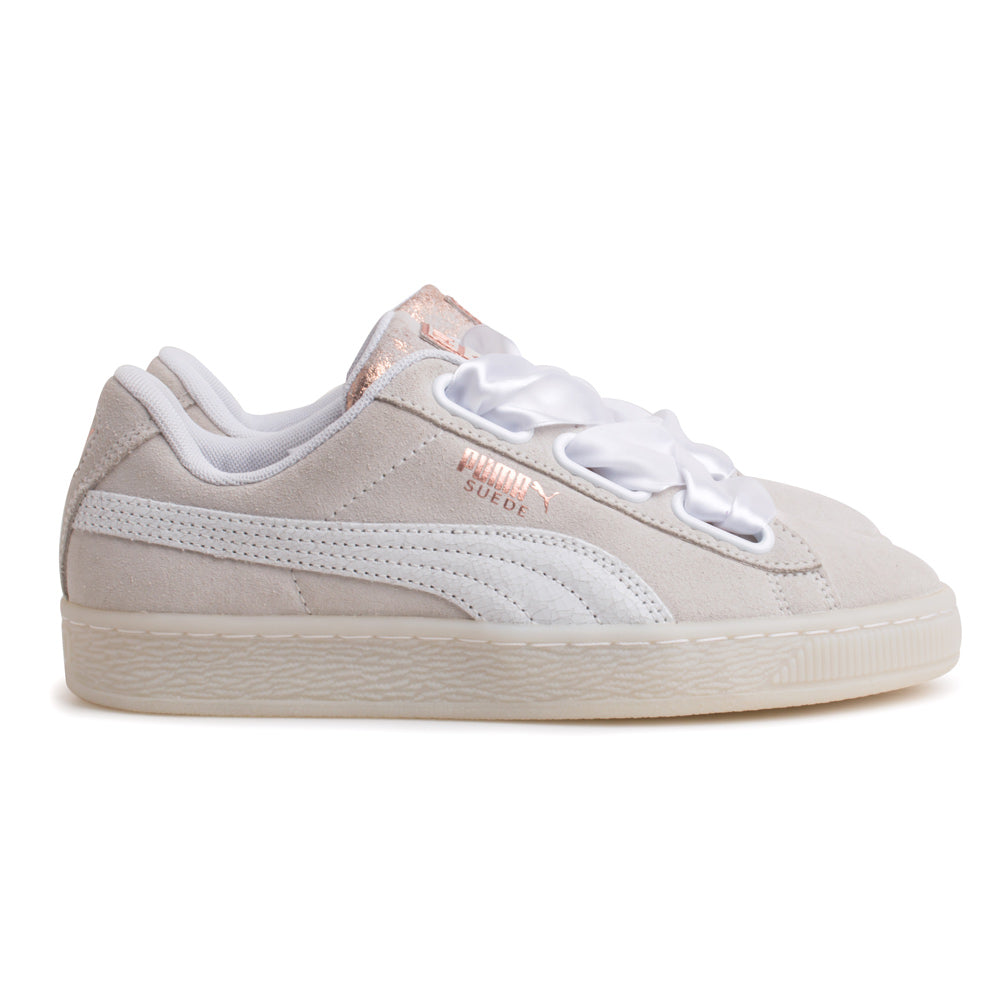 Puma Suede Heart Arctica Women | White - CROSSOVER
