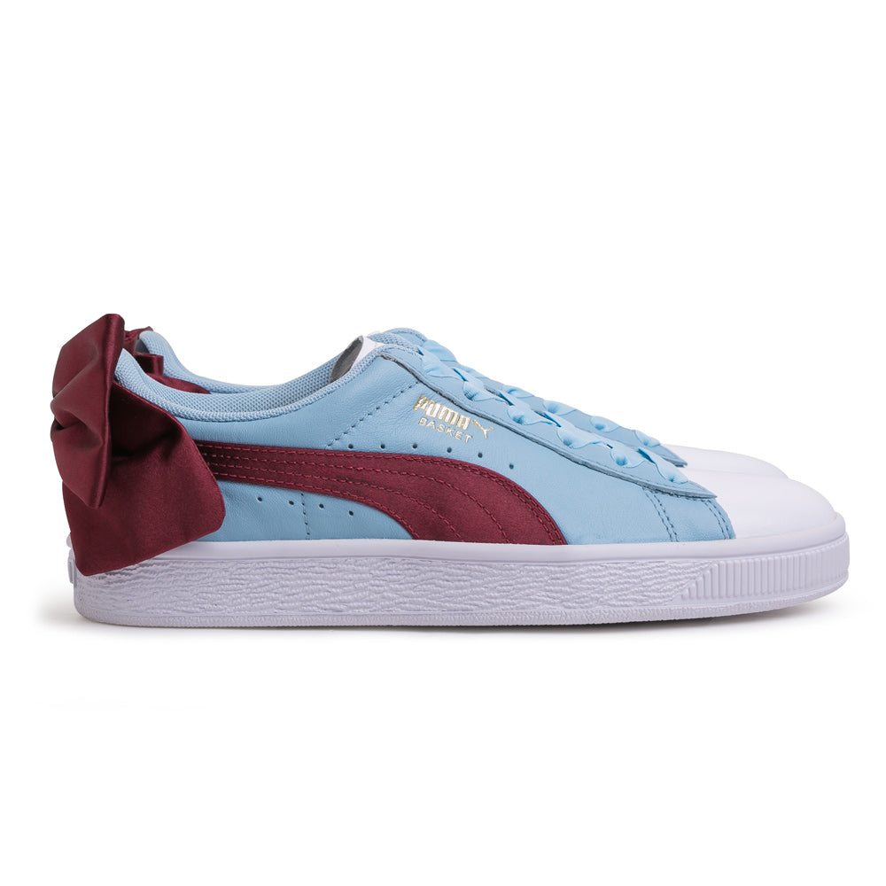 Puma Women's Basket Bow New School | Blue - CROSSOVER