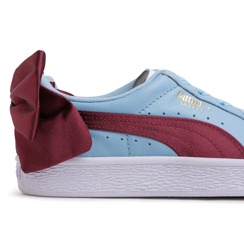 Puma Women's Basket Bow New School | Blue - CROSSOVER ONLINE