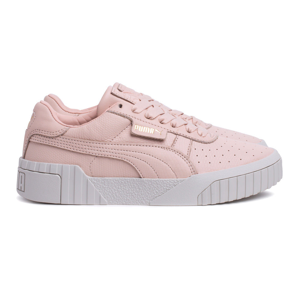 Puma Cali Emboss Women | Cream Tan - CROSSOVER