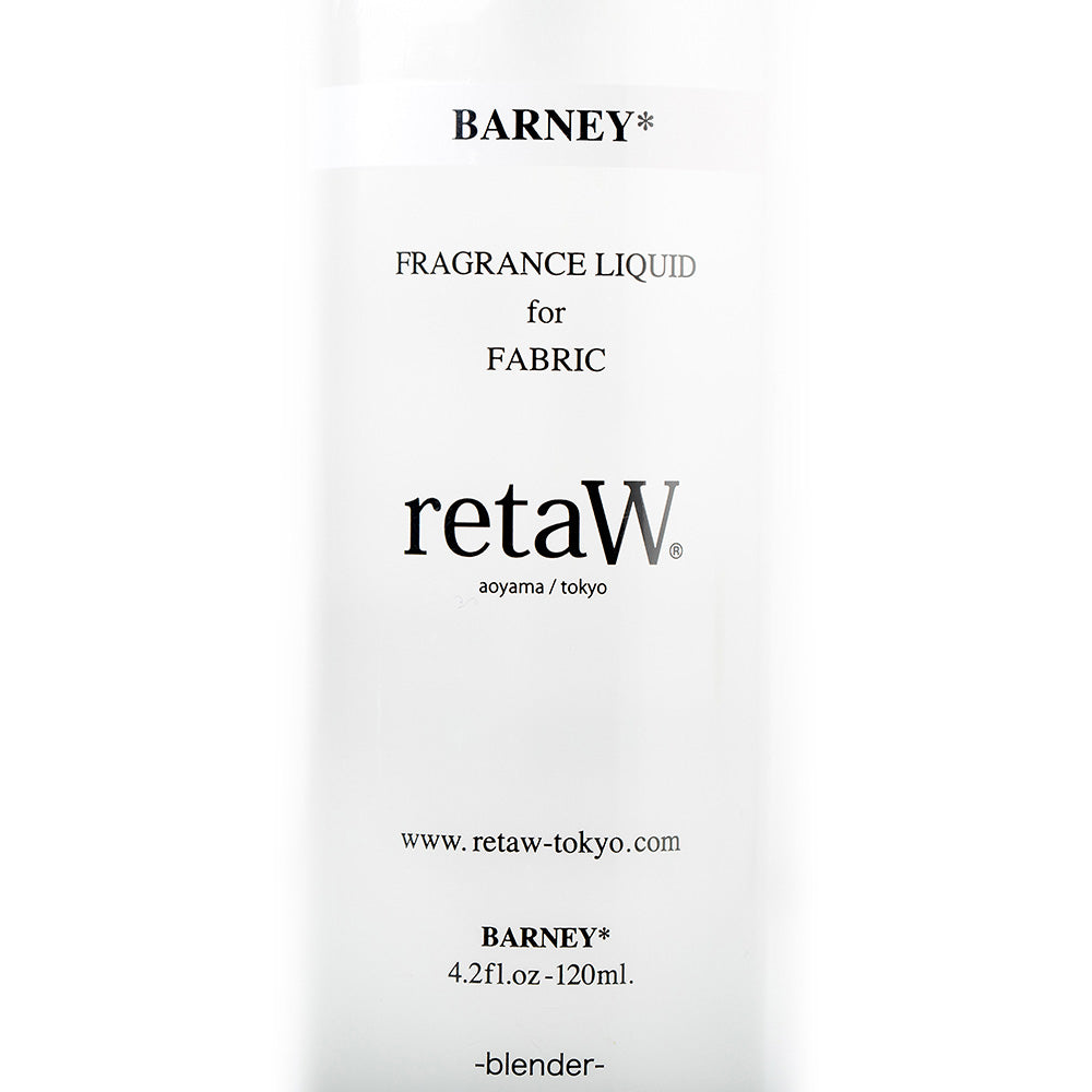 retaW Fragrance Liquid for Fabric | Barney* - CROSSOVER ONLINE