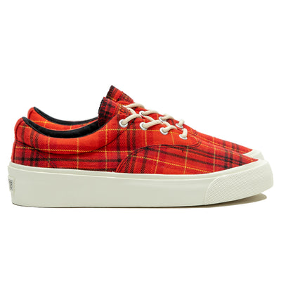 Skid Grip Twisted Plaid | Haute Red