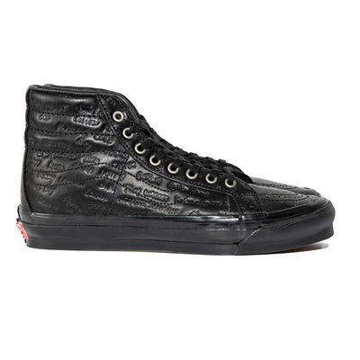 Vans Vault x Raised by Wolves by Jim Goldberg OG SK8-HI LX | Black