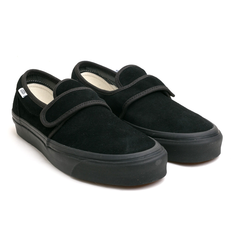 Vans Slip on 47 V DX Anaheim Factory | Black - CROSSOVER ONLINE
