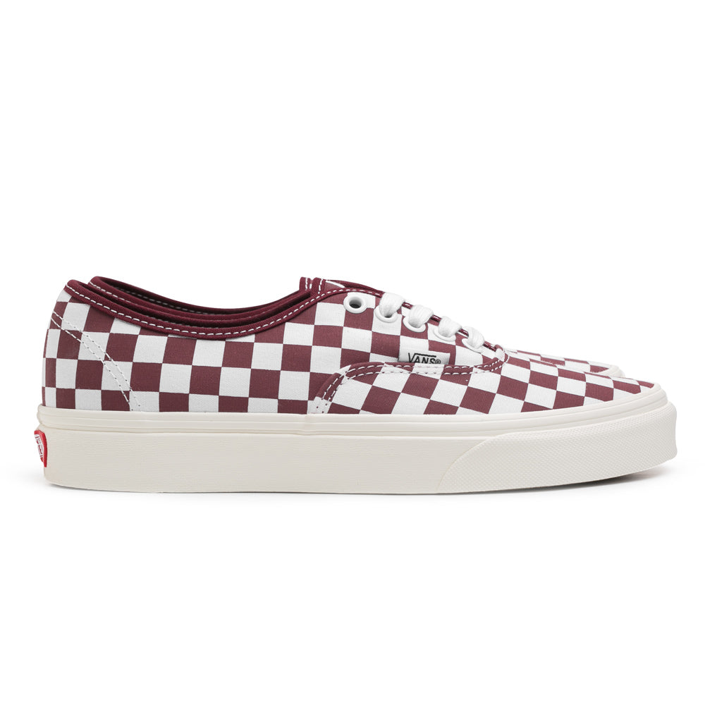 Vans Authentic Checkerboard | Maroon - CROSSOVER