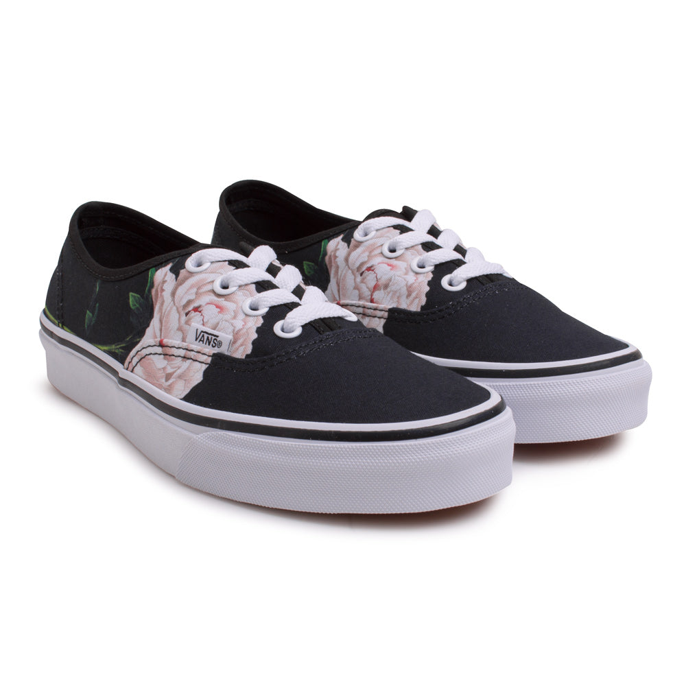 Vans Authentic Winter Floral | Black - CROSSOVER