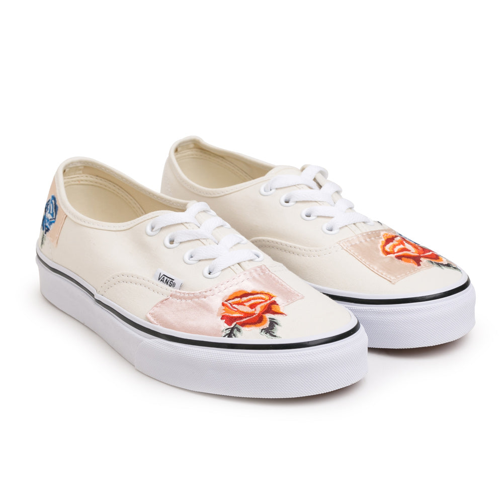 Vans Authentic Satin Patchwork | White - CROSSOVER ONLINE