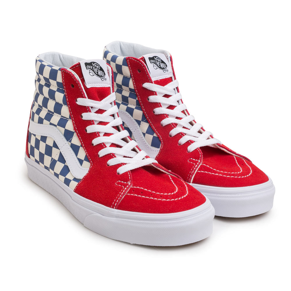 Vans BMX Checkerboard SK8-HI | True Blue - CROSSOVER