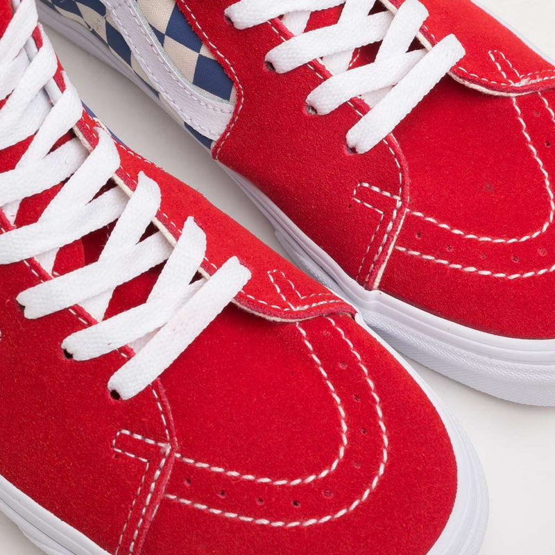 Vans BMX Checkerboard SK8-HI | True Blue - CROSSOVER ONLINE