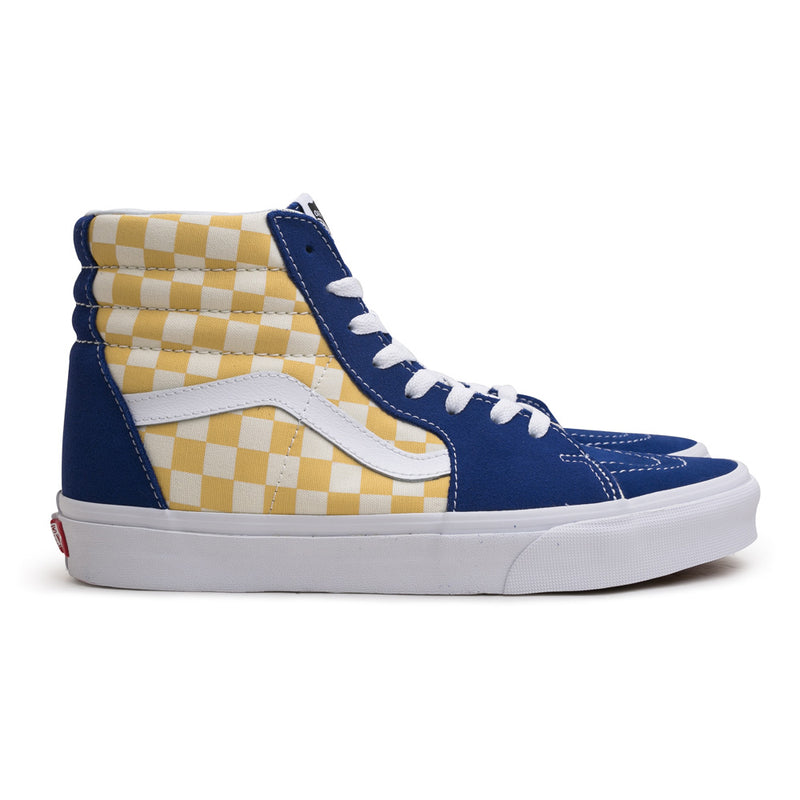 Vans BMX Checkerboard SK8-HI | True Yellow - CROSSOVER ONLINE