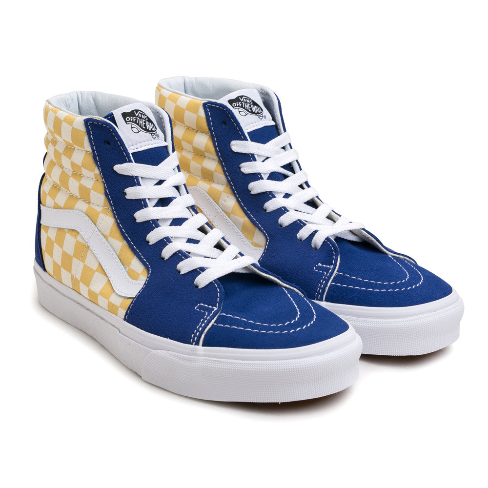 Vans BMX Checkerboard SK8-HI | True Yellow - CROSSOVER