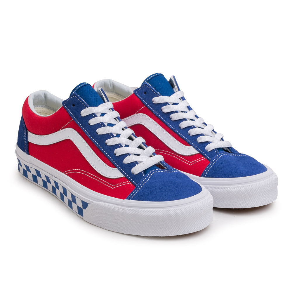 Vans BMX Checkerboard Style 36 | Blue Red - CROSSOVER ONLINE