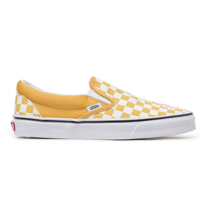 Classic Checkerboard Slip On | Ochre
