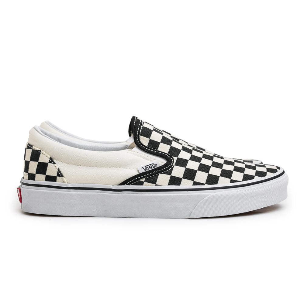 Classic Checkerboard Slip On | Black