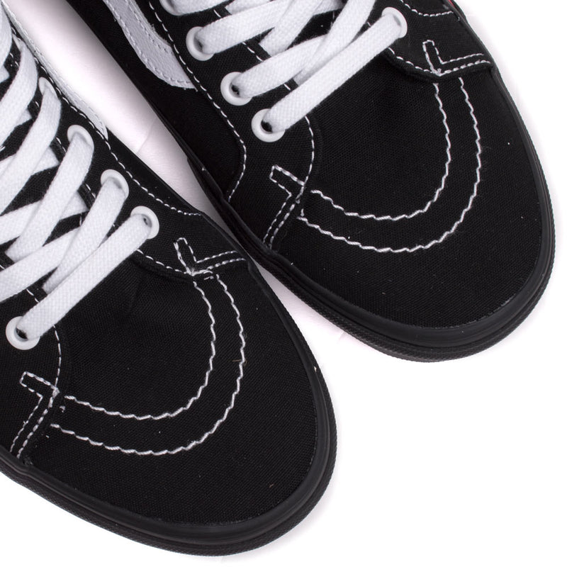 Vans SK8-MID Flame Cut Out | Black - CROSSOVER ONLINE