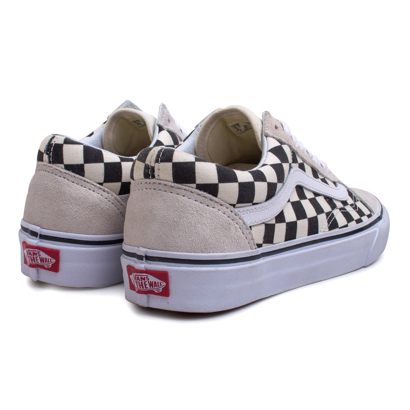 Vans Old Skool Checkerboard | White - CROSSOVER ONLINE