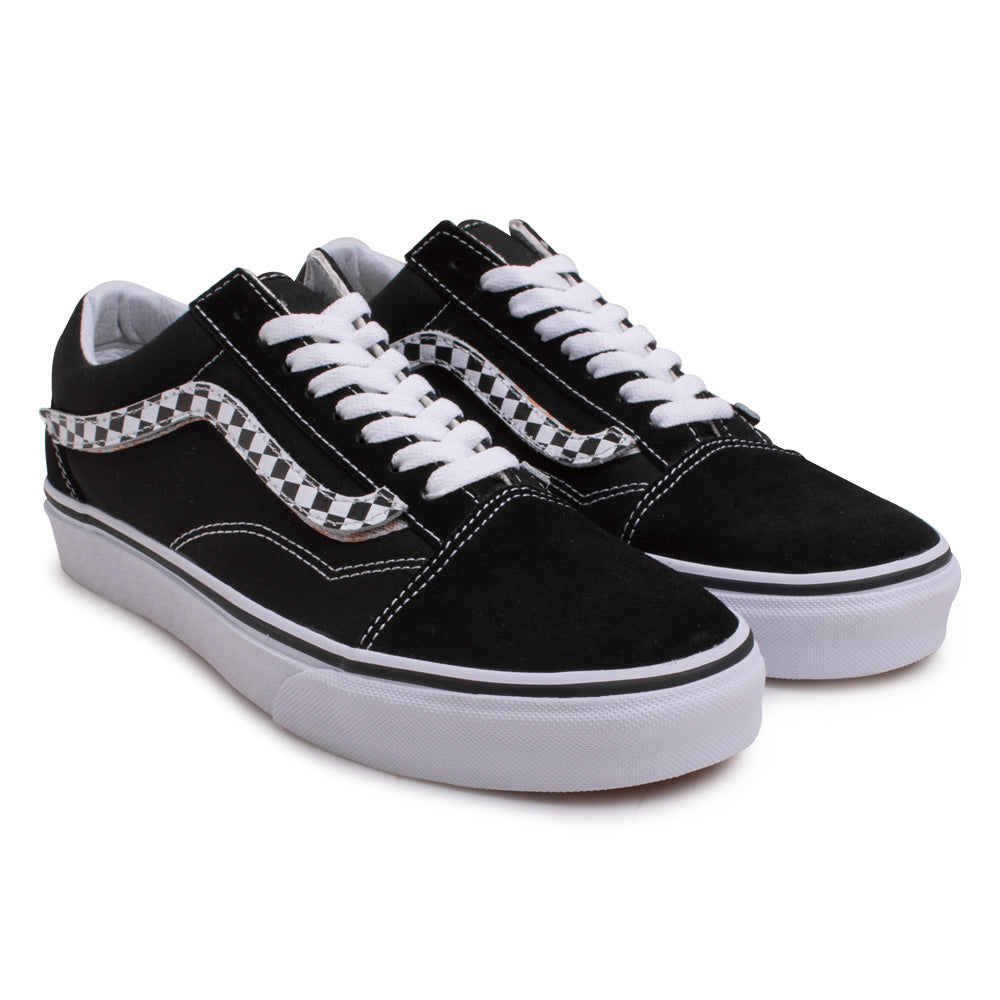Vans Old Skool Sidestripe V | Black - CROSSOVER