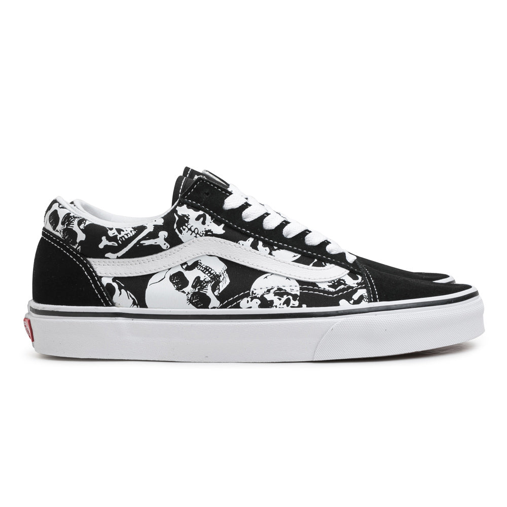 Vans Old Skool 'Skulls' | Black - CROSSOVER ONLINE