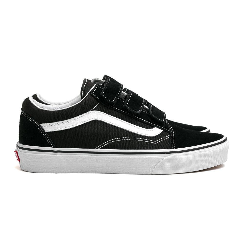 Old Skool V Suede Canvas | Black