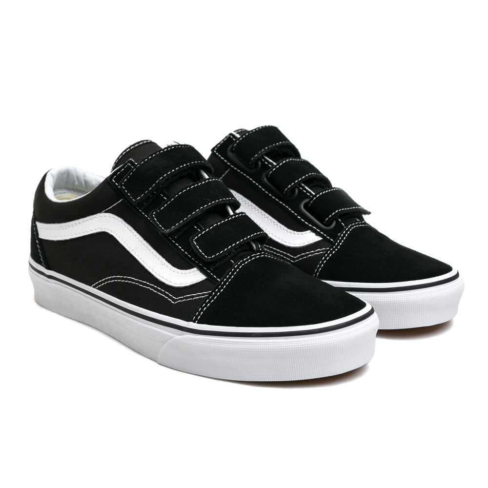 VansOld Skool V Suede Canvas | Black - CROSSOVER ONLINE