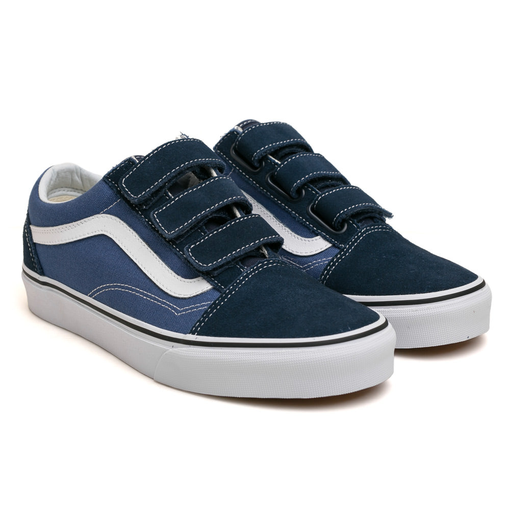 Old Skool V Suede Canvas | Blue