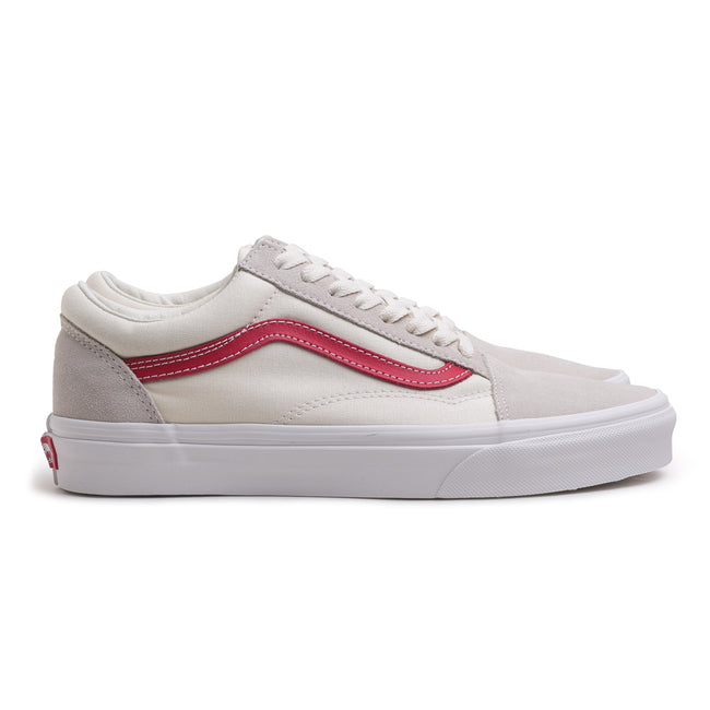 Old Skool | White Rococco Red
