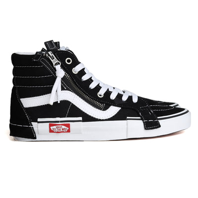 Vans SK8-HI Reissue Checkerboard Cap | Black White - CROSSOVER