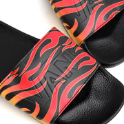 Vans Slide On Flame | Black - CROSSOVER