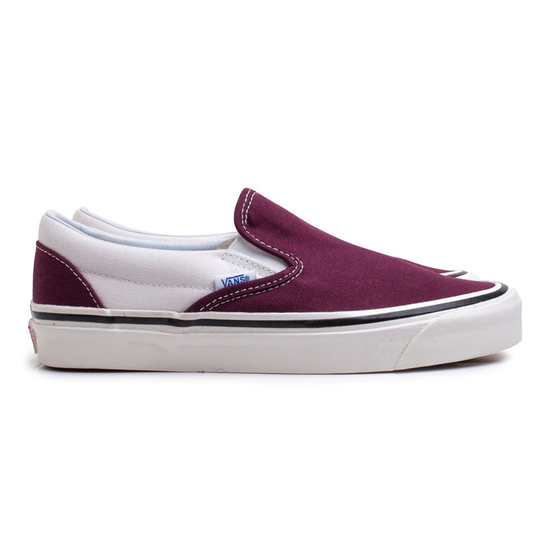 Slip on 98 DX Anaheim Factory | Burgundy